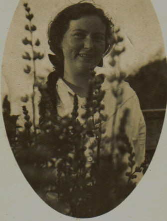 Mary Hogan at Awatuna, 1923
