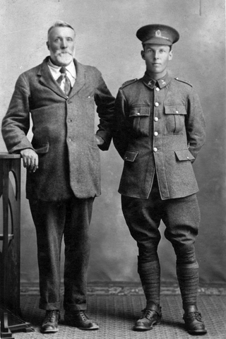 Charles Talbot Cowie in his Army uniform
